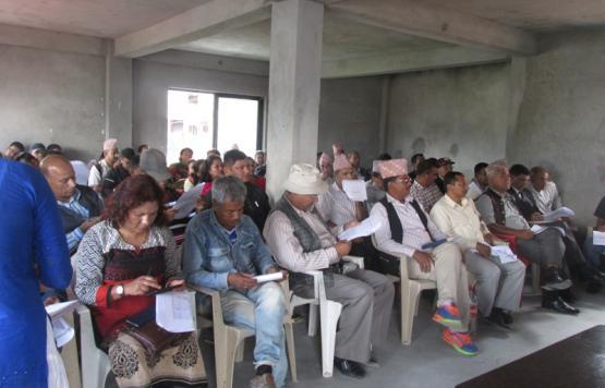 बैठकमा सहभागी व्यक्त्तित्वहरु
